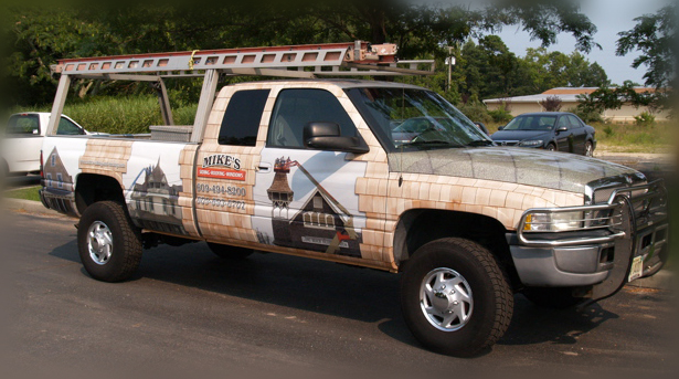 Ocean County NJ pickup truck wraps