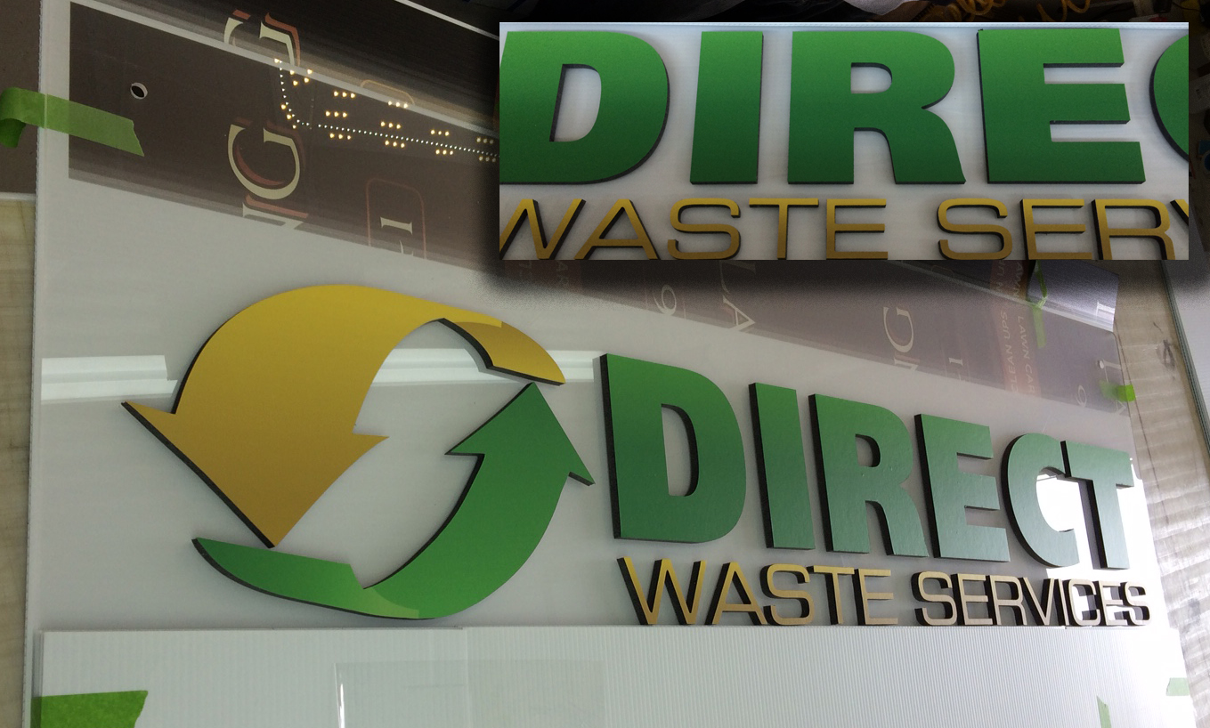 3-d reception, lobby, office, and interior logo signs by Typestries
