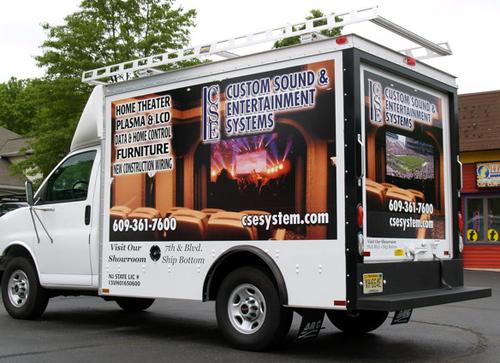 CSE Systems Ocean County Box Truck Wrap