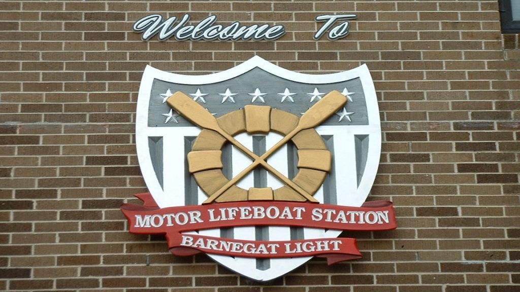 United States Coast Guard Barnegat Light Sign